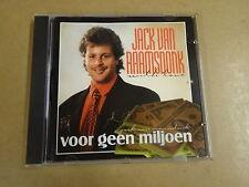 CD / JACK VAN RAAMSDONK - VOOR GEEN MILJOEN