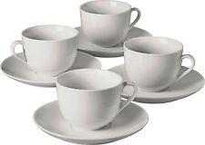8pz porcellana tè tazze e piattini Set Tè Caffè Tazza lavastoviglie e forno a microonde