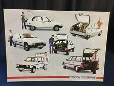 Superbe Catalogue 1986 CITROËN UTILITAIRES VISA CX BX GS !!!!