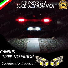 COPPIA LUCI TARGA 5 LED ALFA ROMEO GTV CANBUS 100% NO ERROR / NO AVARIA