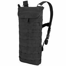 Condor HCB Black Tactical MOLLE PALS Hydration Carrier w/ 2.5L H2O Bladder