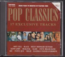 POP CLASSICS VOL.4 ARCADE CD Soft Cell Dexy's Steve Miller Shakatak Bananarama