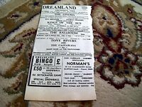 67-6 ephemera 1964 advert dreamland margate tony rivers jimmy mack