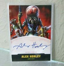 TOPPS MARS ATTACKS OCCUPATION CREATORS AUTOGRAPHED CARD A-1 ALEX HORLEY