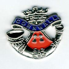 Enamel Lapel Badge Duke of Cornwall's Light Infantry
