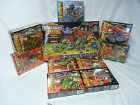 ROBOGEAR  MEGA LOT GAME AND 8 ADD ON FIGURES 6002-6010