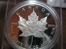CANADA - MAPLE PROOF - 1989 - 10th YEAR COMMEMORATIVE - ONLY MAPLE LEAF PROOF!!