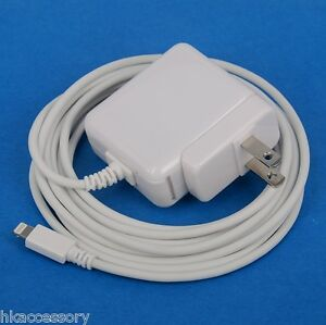 12W AC Wall Charger with 3-meter cord US Plug WHITE for iPad Air 2 mini 4 3
