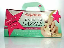 Sally Hansen Dare To Dazzle Holiday Glam Pack Nail Kit