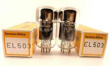 2 x EL503 Siemens Philips NOS NIB U33 codes NOS NIB EL520 France EL34