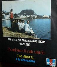 """TEO ANGELI & LA SENSAZIONE 7"""" II° FESTIVAL BACOLESE ( bacoli )  LA TUA IMMAGINE"""