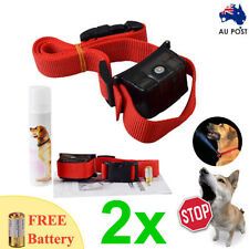 2x Automatic Humane Citronella Anti Bark Training Spray Dog Collar STOP BARKING