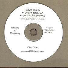ANGER AND FORGIVENESS Father Tom A 4 CDs Alcoholics Anonymous Alanon