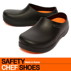 Men Chef Shoes Kitchen Nonslip Shoes Safety shoes Oil and Water on Safety