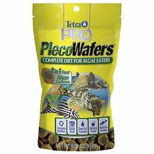 TETRA PRO PLECO WAFERS 5.29 OZ FISH FOOD FOR ALGAE EATERS. TO USA