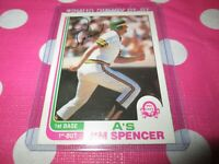 OPC 1982 JIM SPENCER      / 88 OAKLAND