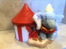 Disney Dumbo Circus Nursery Night Light Stars Moon Soothing Rare lights up