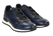 NEW KITON SHOES SNEAKERS 100% LEATHER SIZE 8 US 41 EU 18KSCW9