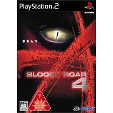 Used PS2 Bloody Roar 4 Japan Import