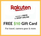 Get $10 FREE CASH on RAKUTEN - 100% Guaranteed as BONUS