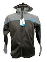 Shimano Hybrid Jacket Men's Medium Fishing Hooded Breathable Water Repellent DWR