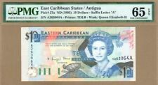 EAST CARIBBEAN STATES: 10 Dollars Banknote,(UNC PMG65),P-27a,1993,No Reserve!