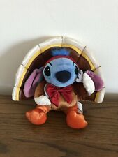 DISNEY STORE LILO AND STITCH- STITCH DRESSED AS THANKSGIVING TURKEY   NEW