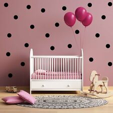 Peel and Stick vinyl Poka dot Wall Decals for Nursery, Kids Room free shipping