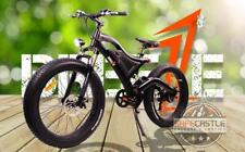 Breeze Ninja Fat Tire Electric Mountain Bike 750W,48V,10.4ah battery, Free Ship