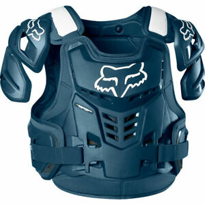 Fox 2020 Raptor Vest - CE Chest Protector Navy All Sizes