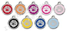 Fish Bowl Enamel/Solid Stainless Steel Engraved ID Cat Tag