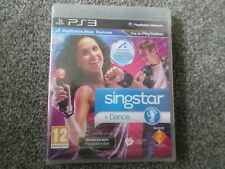 SONY PLAYSTATION 3 GAME SINGSTAR + DANCE PAL PS3 NEW AND SEALED FREE UK POST