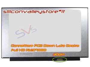 Display Slim Compatibie N156HCA-EAB Rev.B1 LP156WF9 (Sp X L1) LP156WFC SPD1