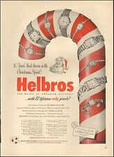 1951 Vintage ad for Helbros Watches`Helbros Watch Co., nc. Candy Cane (110616)
