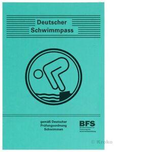 Schwimmabzeichen Urkunde Schwimmpaß Erwachsene DSP ab 01.01.2020 NEU