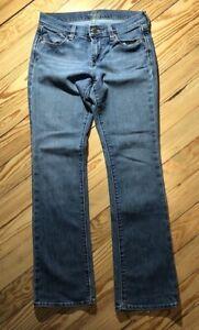 Women's OLD NAVY THE FLIRT Denim Blue Jeans Size 6
