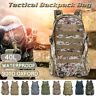 45L Waterproof Outdoor Camping Hiking Bag Army Military Tactical Backpack