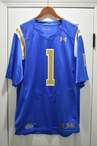 UCLA Bruins Football Under Armour Replica #1 Jersey Large Blue NEW WITH TAGS