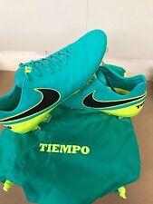 Nike Tiempo Legend VI FG US size 10.5 soccer cleats 819177-307