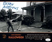 BRIAN ANDREWS Signed HALLOWEEN 8x10 Photo IN PERSON Autograph JSA COA Cert