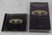Van Halen Video Hits VHS & Best of CD Volume 1 / 1996