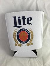 New Lot of 2 Miller Lite Can Koozie Cooler Classic Logo Beer
