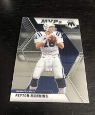 New listing 2020 Mosaic Peyton Manning *MVPs* #299 - Indianapolis *Free Shipping*