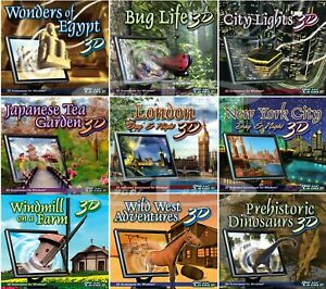 DreamSaver Scenic Landscapes Screensavers PC Windows XP Vista 7 32-Bit Sealed