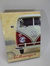 """Très beau coffret cadeau """" VW """" rouge/Noir BRIQUET + étui -"""