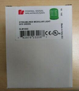 Federal Signal  SLM100G Green Streamline Modular Light NEW-factorysealed