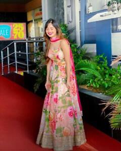 Designer Ready Made Gown Wear Party Suit Anarkali Kameez Pakistani Indian Dress