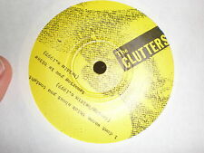 """The Clutters 7"""" I Don't Wanna Think About You Tonight BEST STEAK HOUSE RECORDS"""