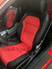2016-2019 Chevrolet Camaro Coupe LS RS SS Katzkin Red Leather Seat Covers Kit