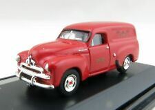 Road Ragers - Australian 1953 Holden FJ PMG Telefon Panel Van Red H0 Scale 1:87